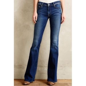 NWOT! MOTHER The Cruiser Medium Wash Flare Jeans